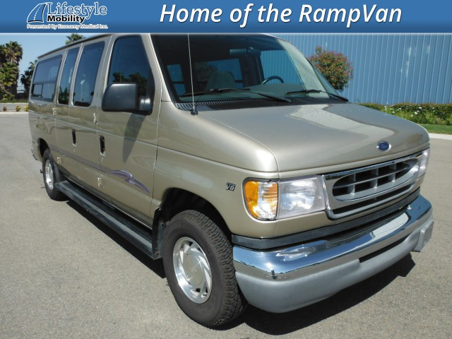 1999 Ford E150 Econoline  Wheelchair Van For Sale