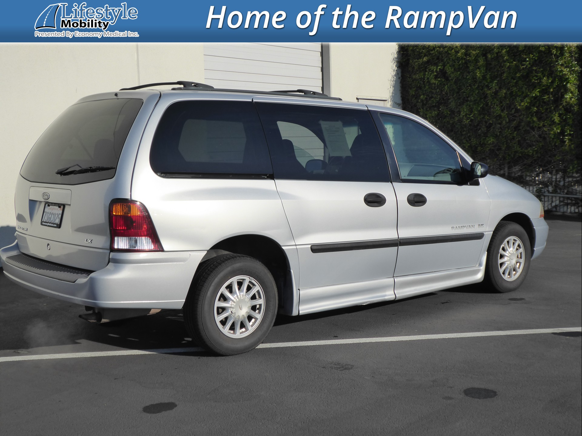 Wheelchair van for sale 2002 ford windstar stock 2bb36420 lifestyle mobility