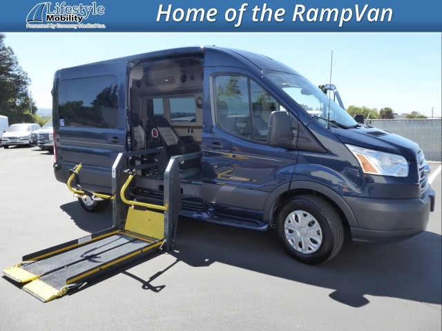 2018 Ford Transit Van Nor-Cal Vans NCV Personal Mobility Transit Wheelchair Van For Sale