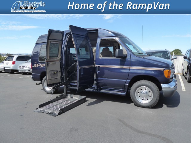2006 Ford Econoline Cargo Non Branded Full Size Van Conversion Wheelchair Van For Sale