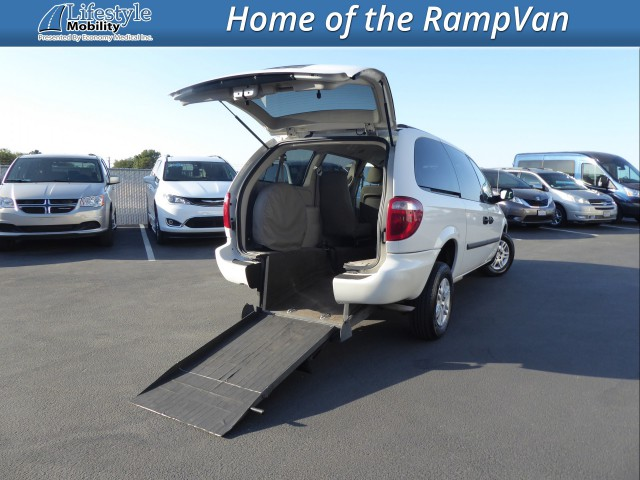 2007 Dodge Grand Caravan Vision Rear Entry Vision Rear Entry Manual Wheelchair Van For Sale
