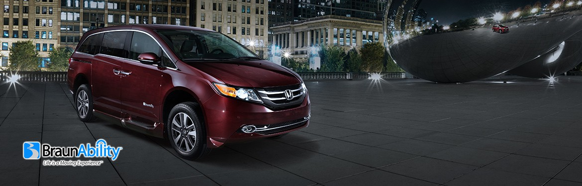 BraunAbility Wheelchair Vans - Honda Accessible Van