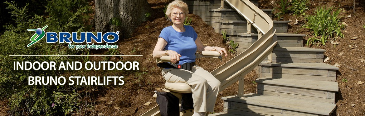 Bruno Outdoor and Indoor StairLifts